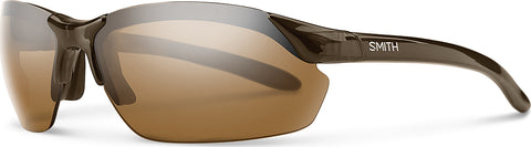 Smith Optics Unisex Parallel Max - Brown - Polar Brown Ignitor Clear Lens