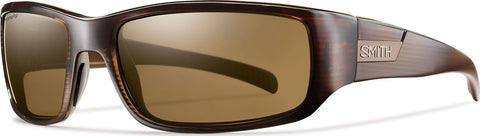 Smith Optics Prospect Brown Stripe - CP Polarized Brown
