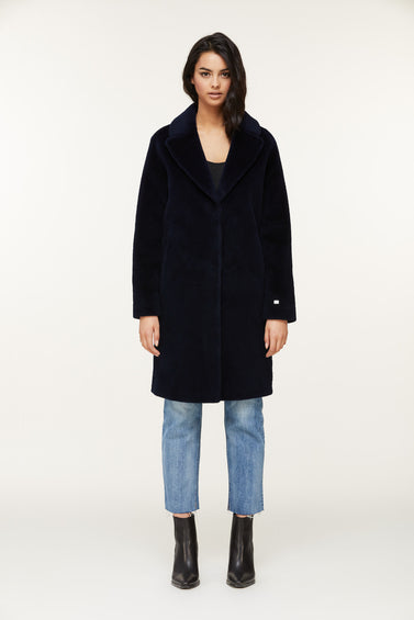 SOIA & KYO Rubina-N Wool Coat - Women's