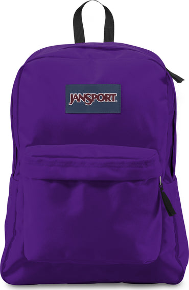 JanSport Superbreak 25L Backpack Signature Purple