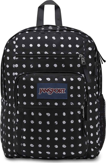 JanSport Big Student 34L Backpack Black Sketch Dot