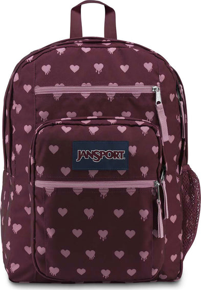 JanSport Big Student 34L Backpack Russet Red Bleeding Hearts
