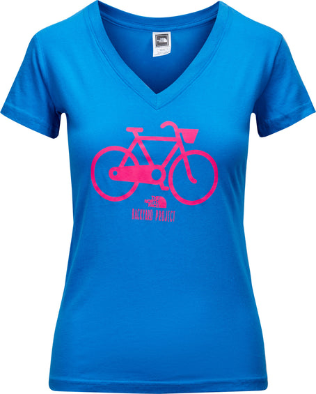 The North Face Women's Backyard Bicycle V-Neck Tee