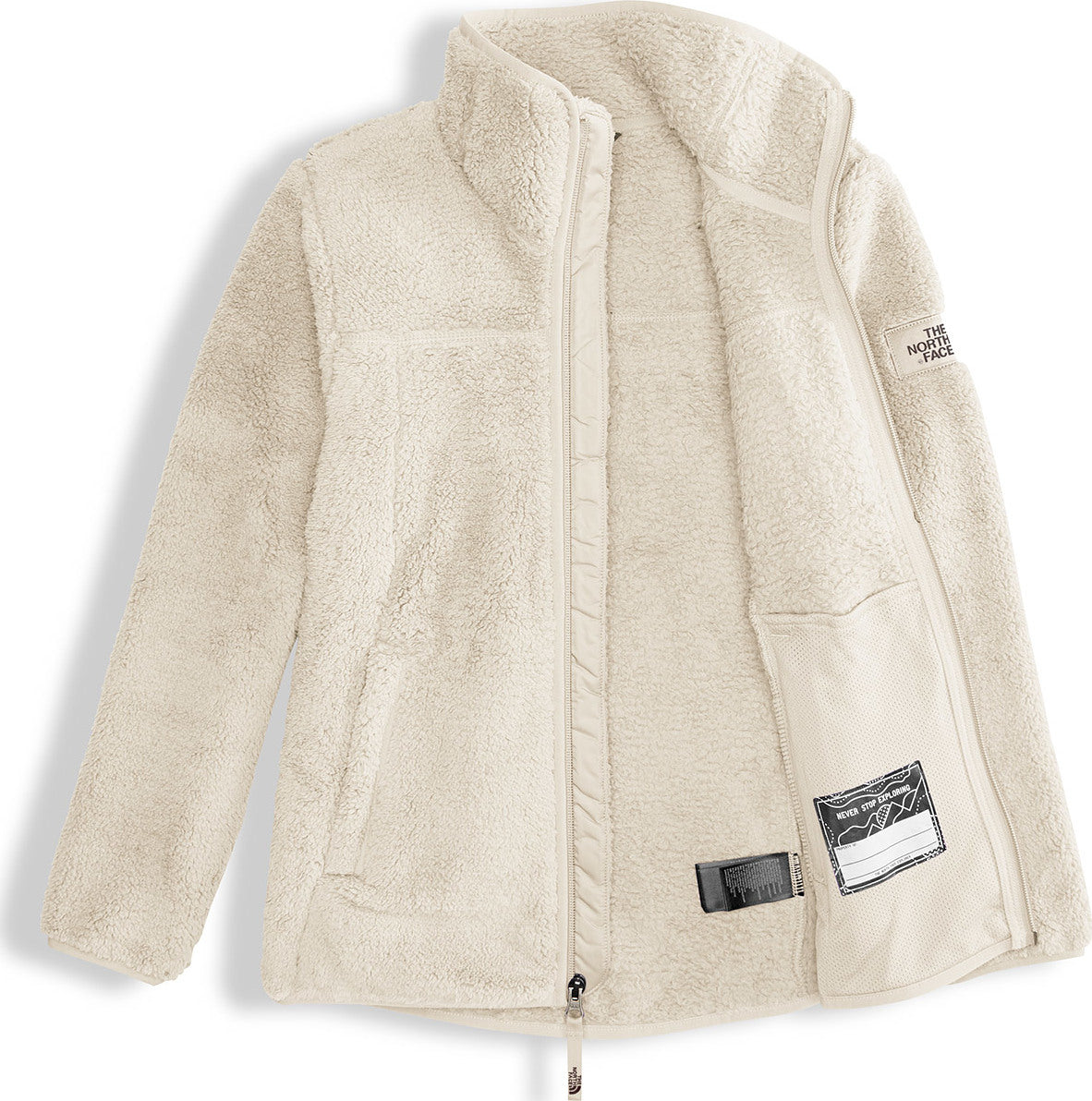 f755d02e0937 The North Face Campshire Full Zip - Girls