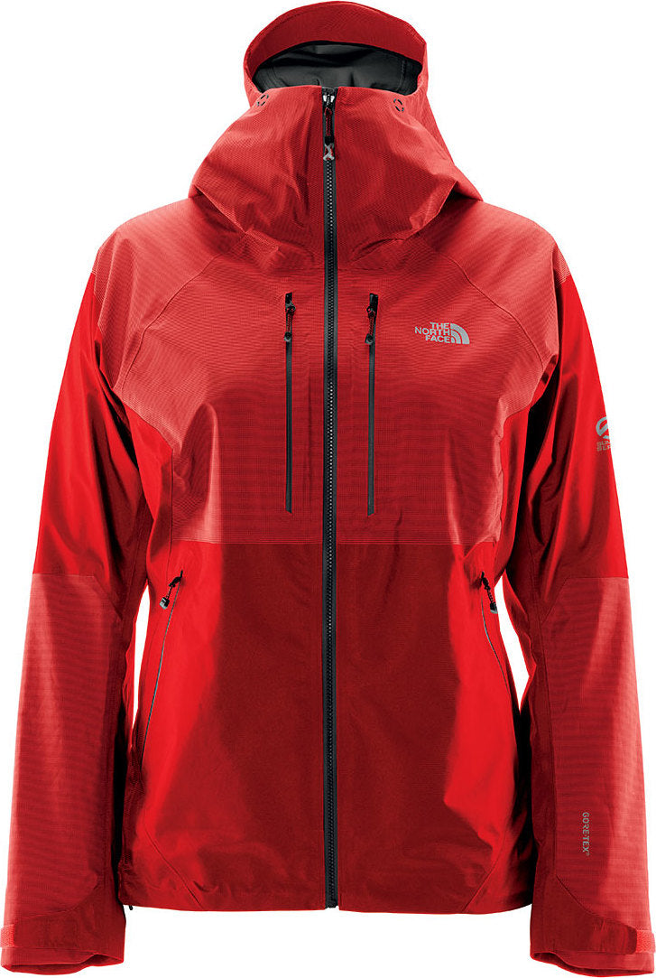 87c4cf79ab0b Summit L5 FuseForm GTX C-KNIT Jacket - Women s Fiery Red - High Rise Grey  ...