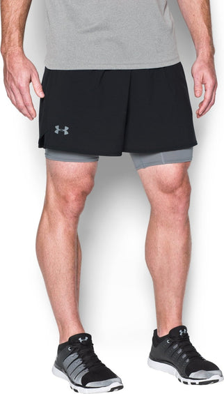Under Armour UA Qualifier 2-in-1 Short - Men's
