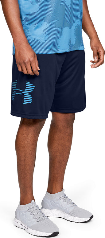 5b4b436e8 Loading spinner Under Armour UA Tech Graphic Shorts - Men's Academy - Ether  Blue
