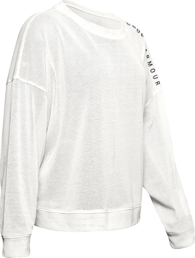Under Armour UA Mesh Around Oversize Crew Sweater - Women's