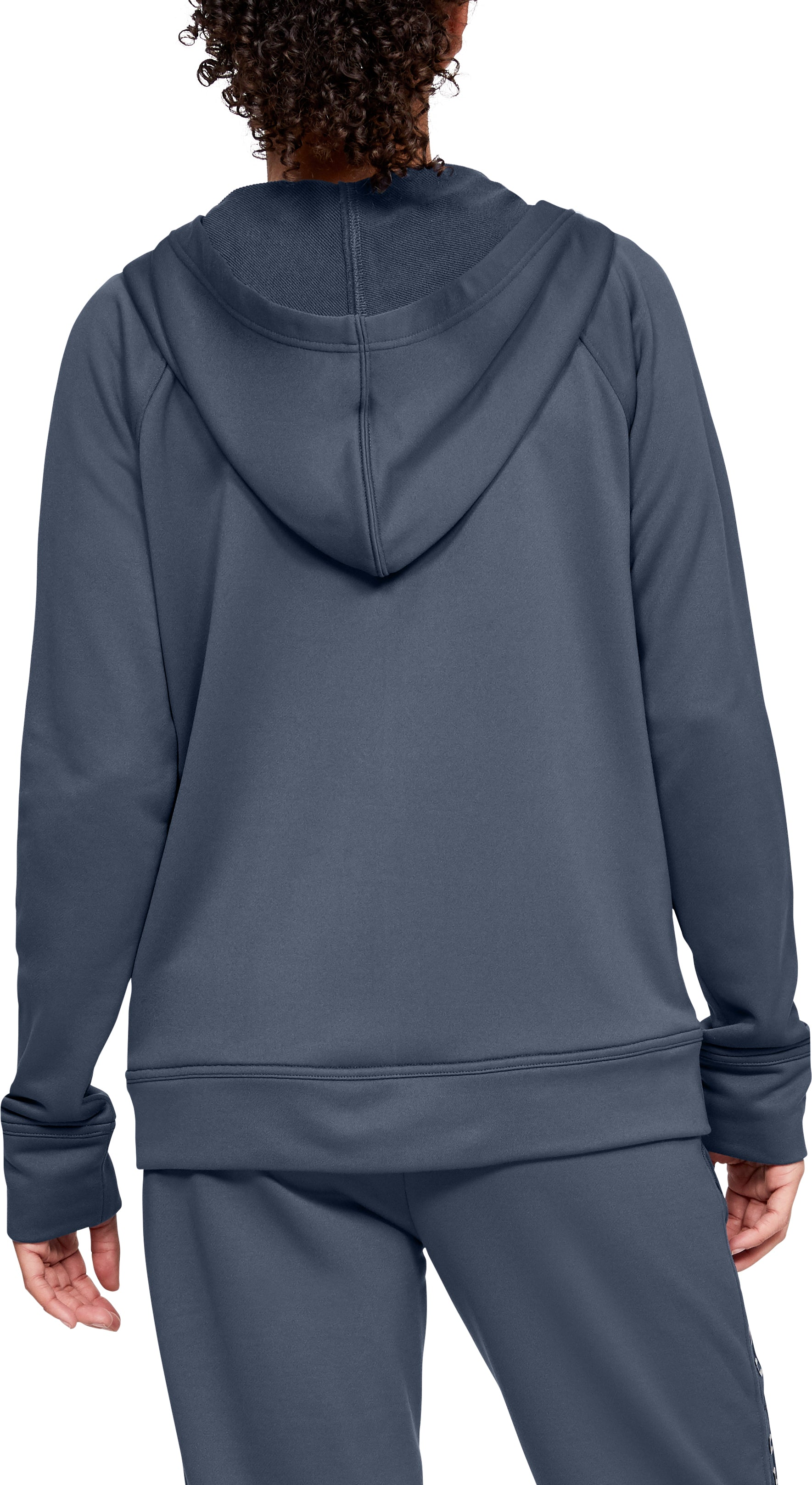 Under Armour Womens Favorite Terry Fz Bomber Warm-up Top