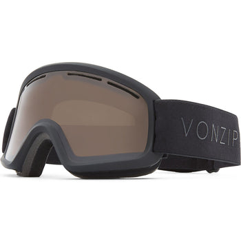 Trike - Black Satin - Wildlife Bronze Lens Goggle