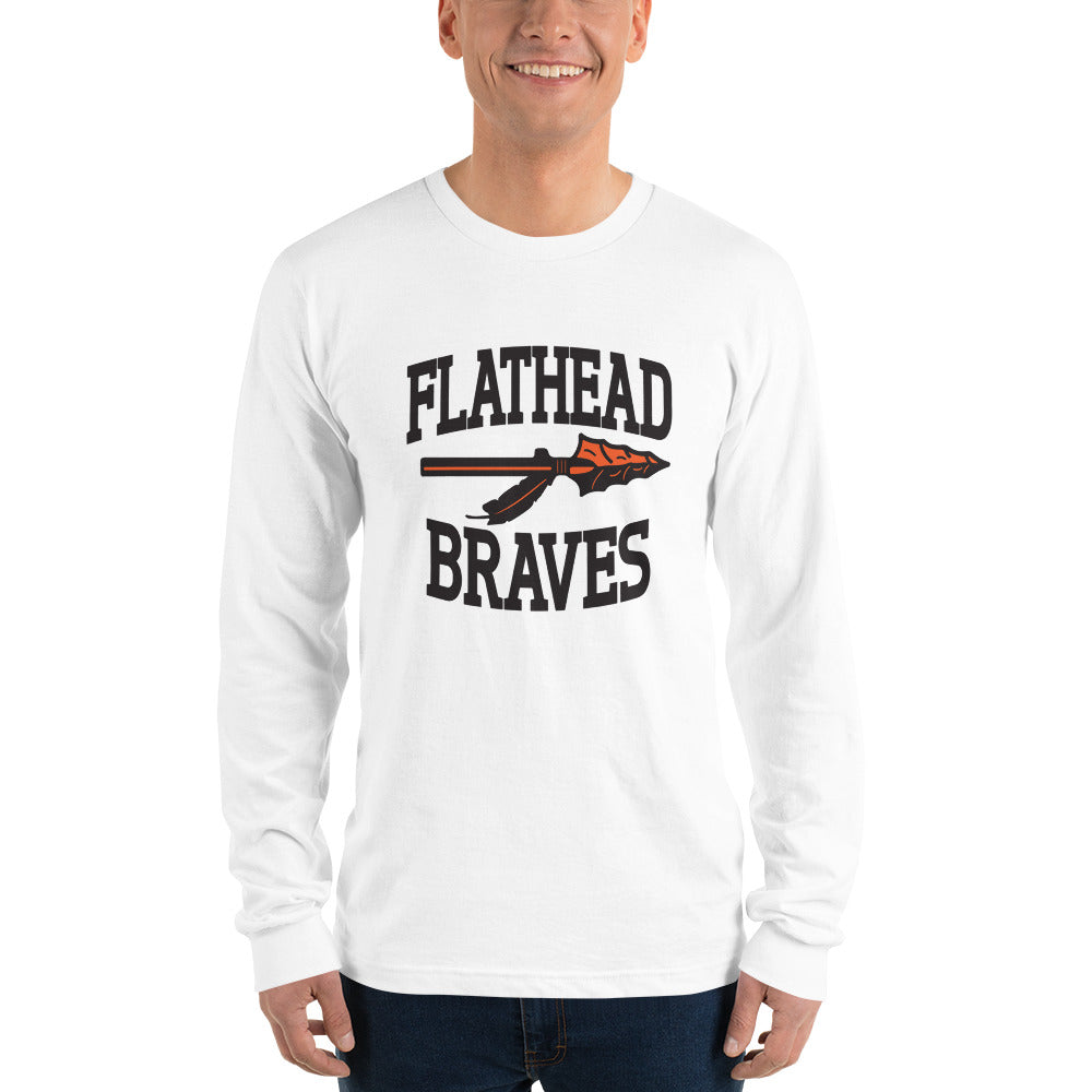 Flathead Braves Long sleeve t-shirt