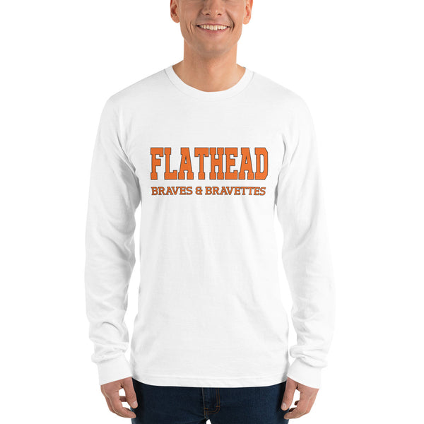 Flathead Braves & Bravettes Long sleeve t-shirt
