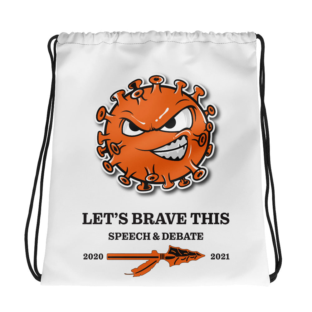 Speech and Debate 2020-2021 Drawstring bag