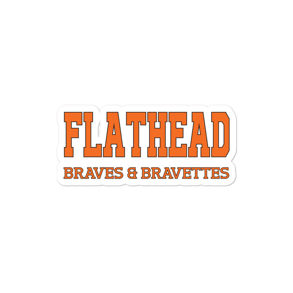 Flathead High School stickers
