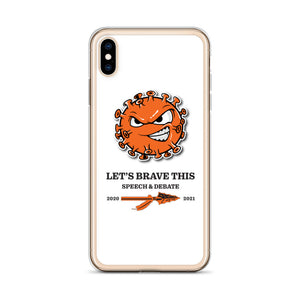 Speech and Debate 2020-2021 iPhone Case