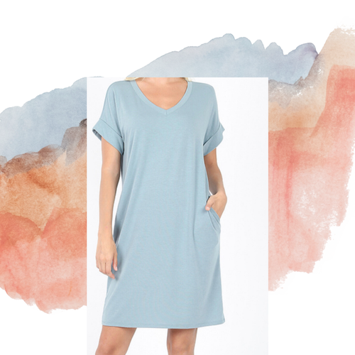 Cloudy Day Dress