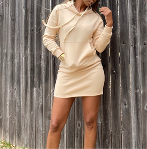 Chill Day Hoodie Dress