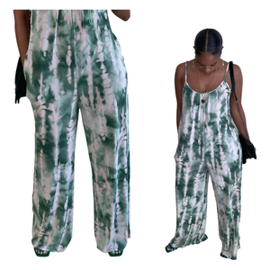 Green Things Jumpsuit