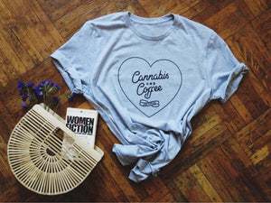 Cannabis & Coffee Weed T-Shirt