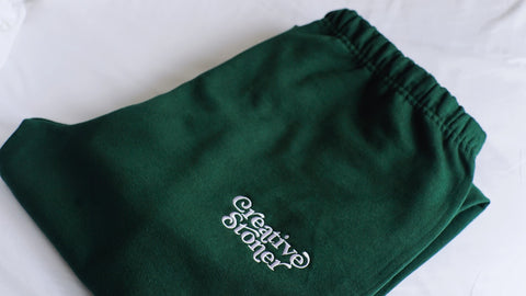 Creative Stoner Sweatpants (Forest Green)