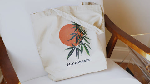 Plant-Based Organic Cotton Tote