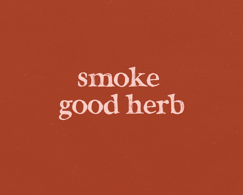Good Herb Art Print