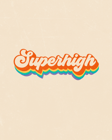 Superhigh Art Print