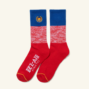 Academy Socks Royal Red Heather Image  #1