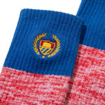 Academy Crest Socks Royal Red Heather Image  #2