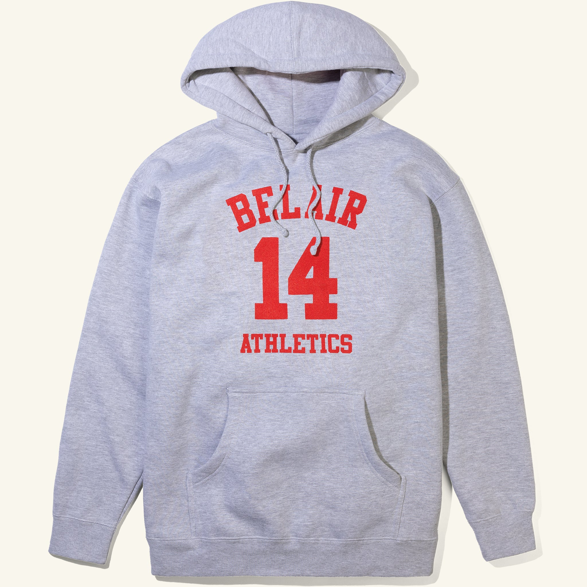 Bel Air 14 Hoodie Heather Grey Image  #1