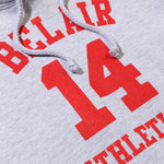 Bel Air 14 Hoodie Heather Grey Image  #2