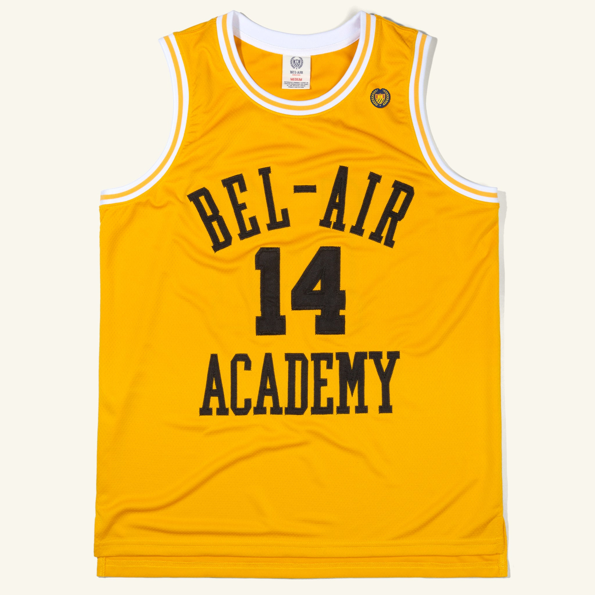 Academy Basketball Jersey Gold Image  #1