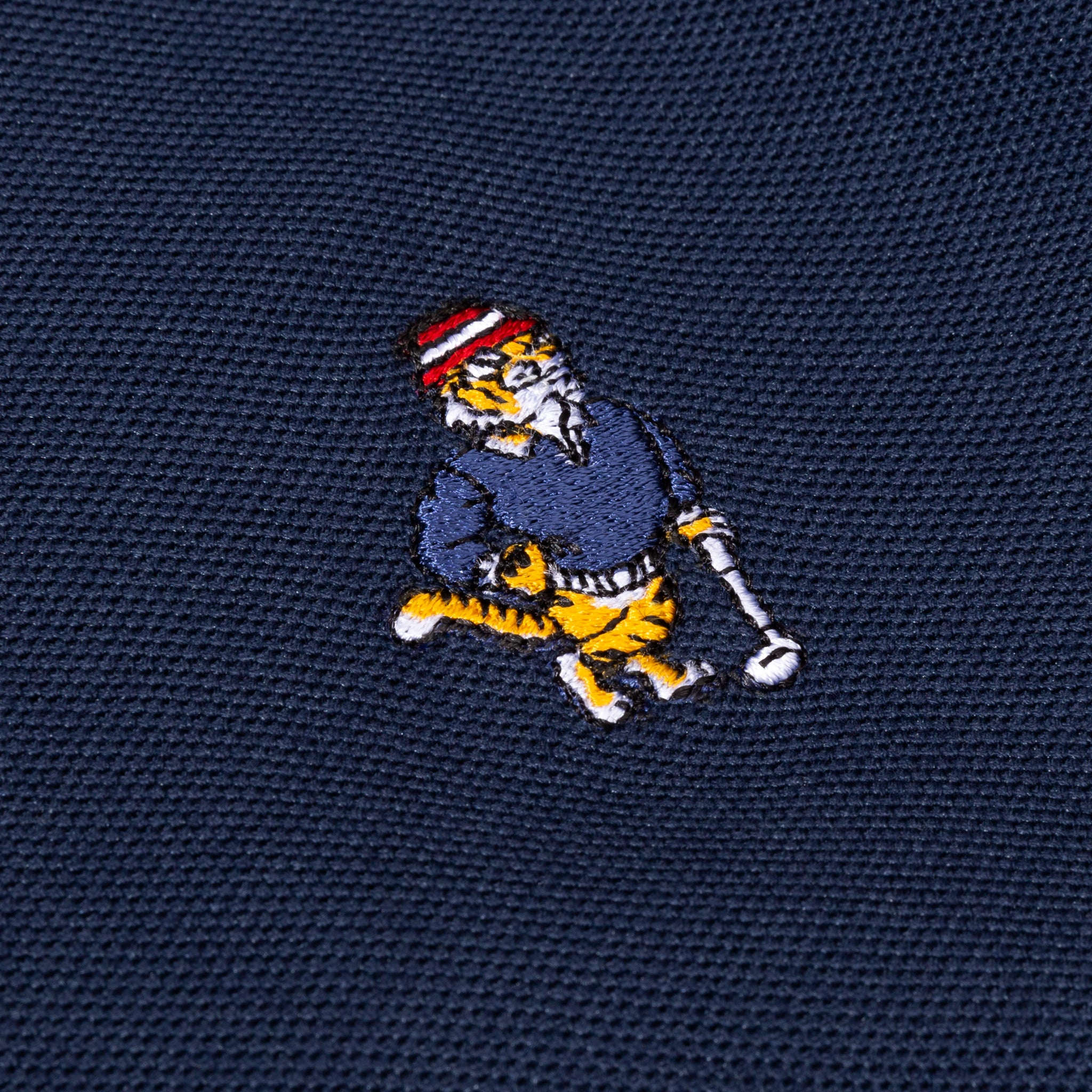 Bel Air Banks Tee Time Embroidered Polo Navy Image  #2