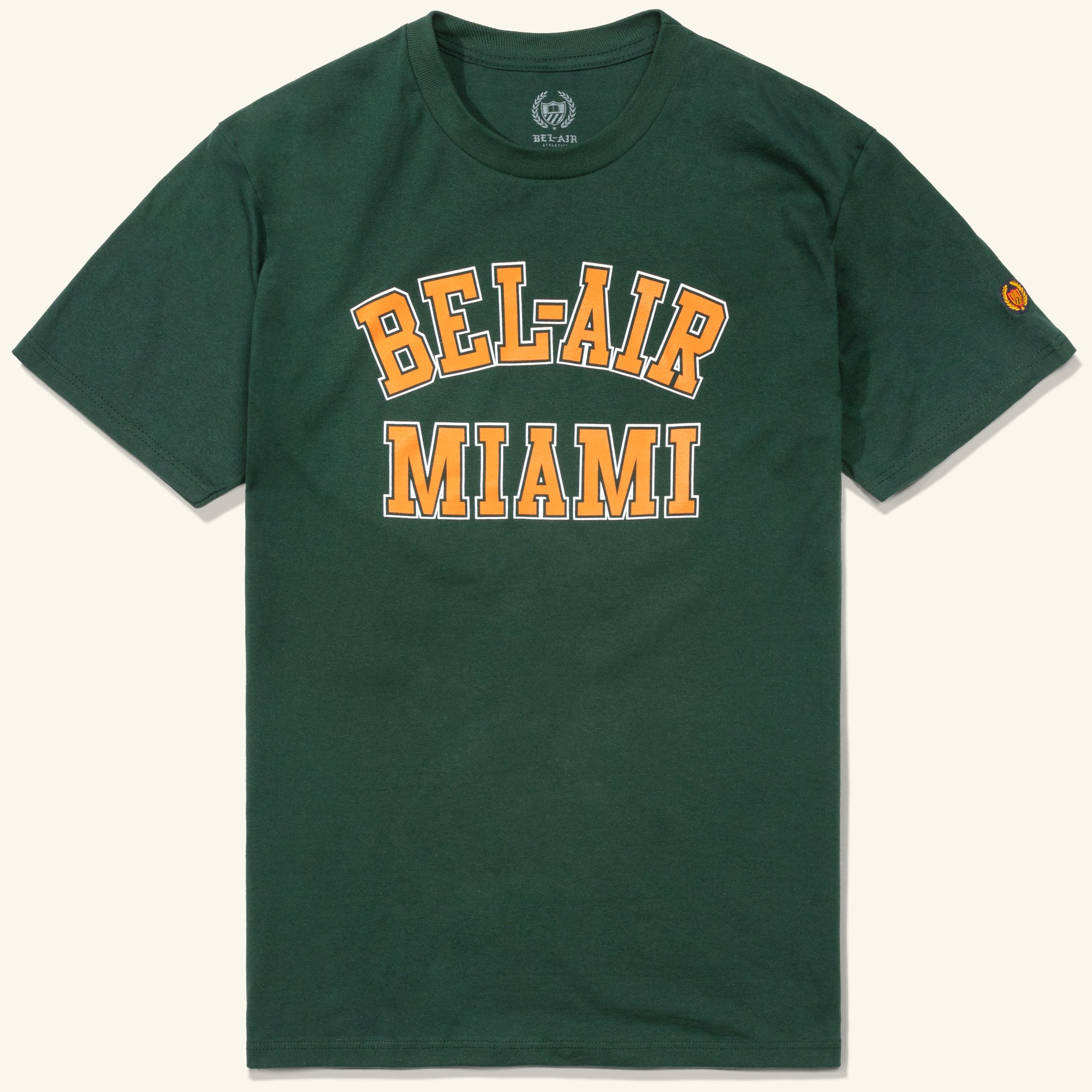 Bel Air Miami Tee Green Image  #1