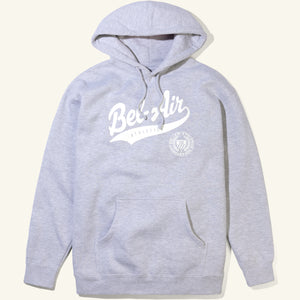 Bel-Air Script Hoodie, Heather Grey