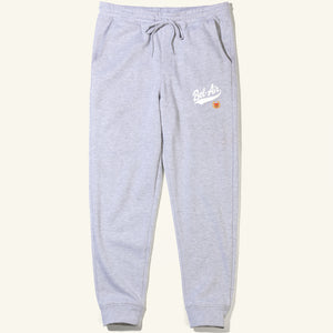 Bel Air Script Sweatpants Heather Grey Image  #1
