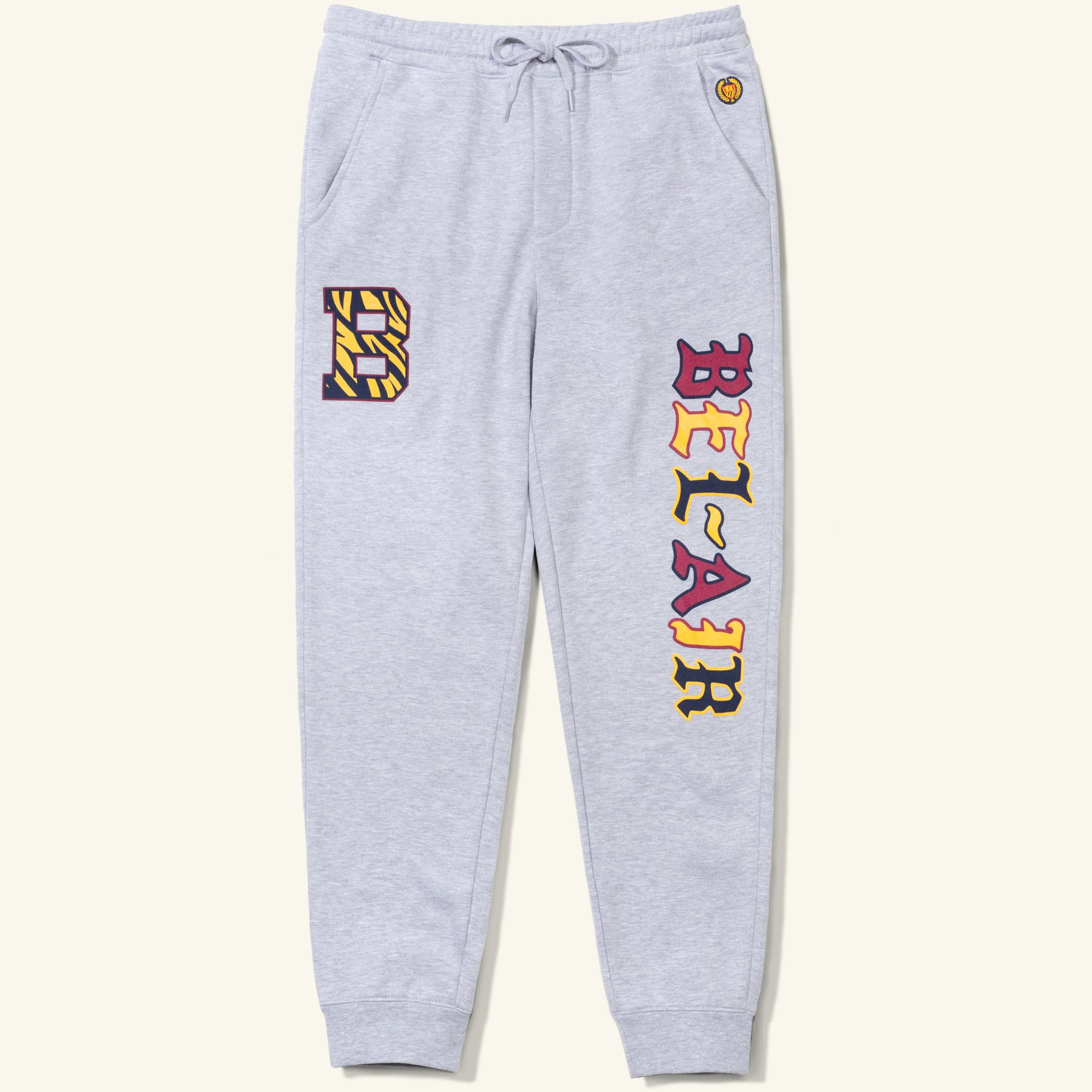 Bengal B Sweatpants Heather Grey Image  #1