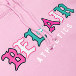 Gothic Mark Hooded Sweatshirt Pink Image  #2