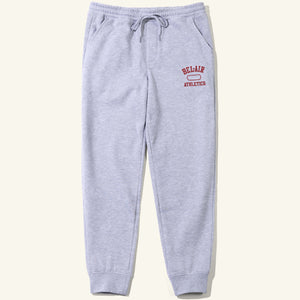 Gym Logo Sweatpants Heather Crimson Image  #1