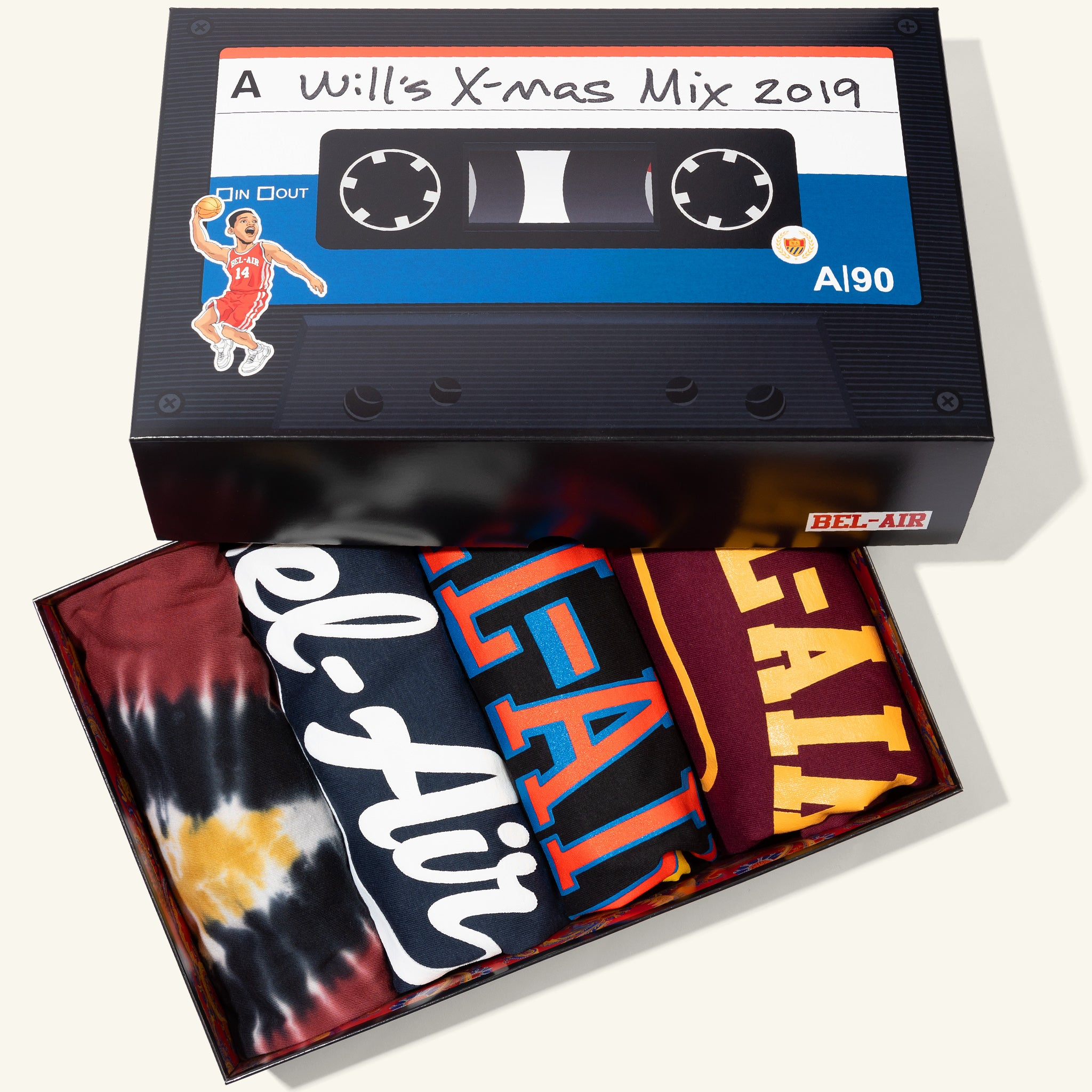Mixtape 4-Pack Box Set #1