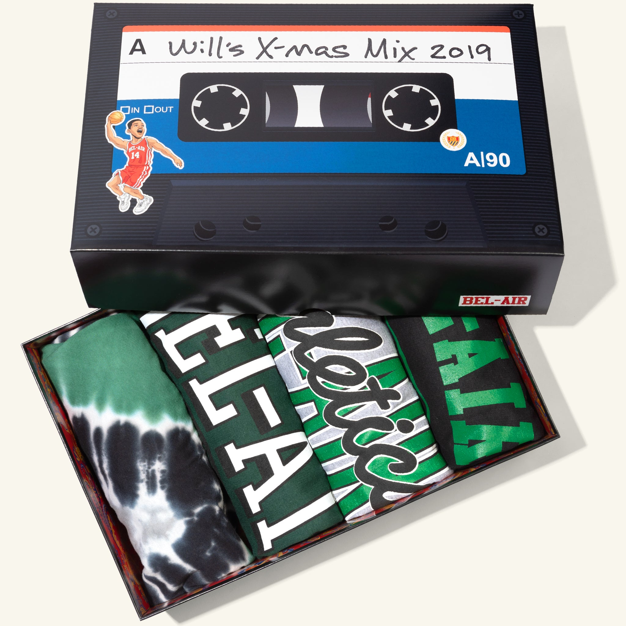 Mixtape 4-Pack Box Set #2
