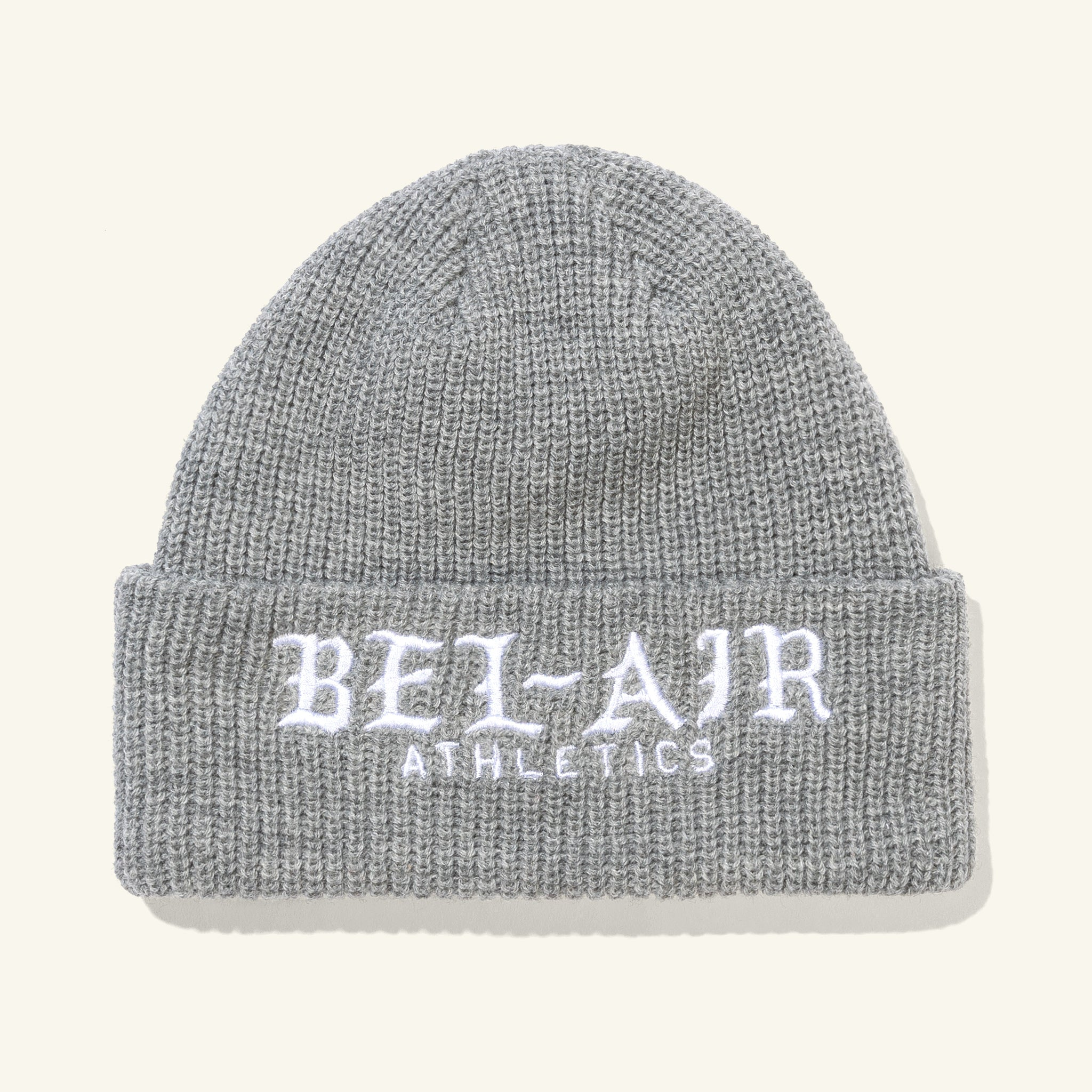 Old English Beanie Grey Image  #1