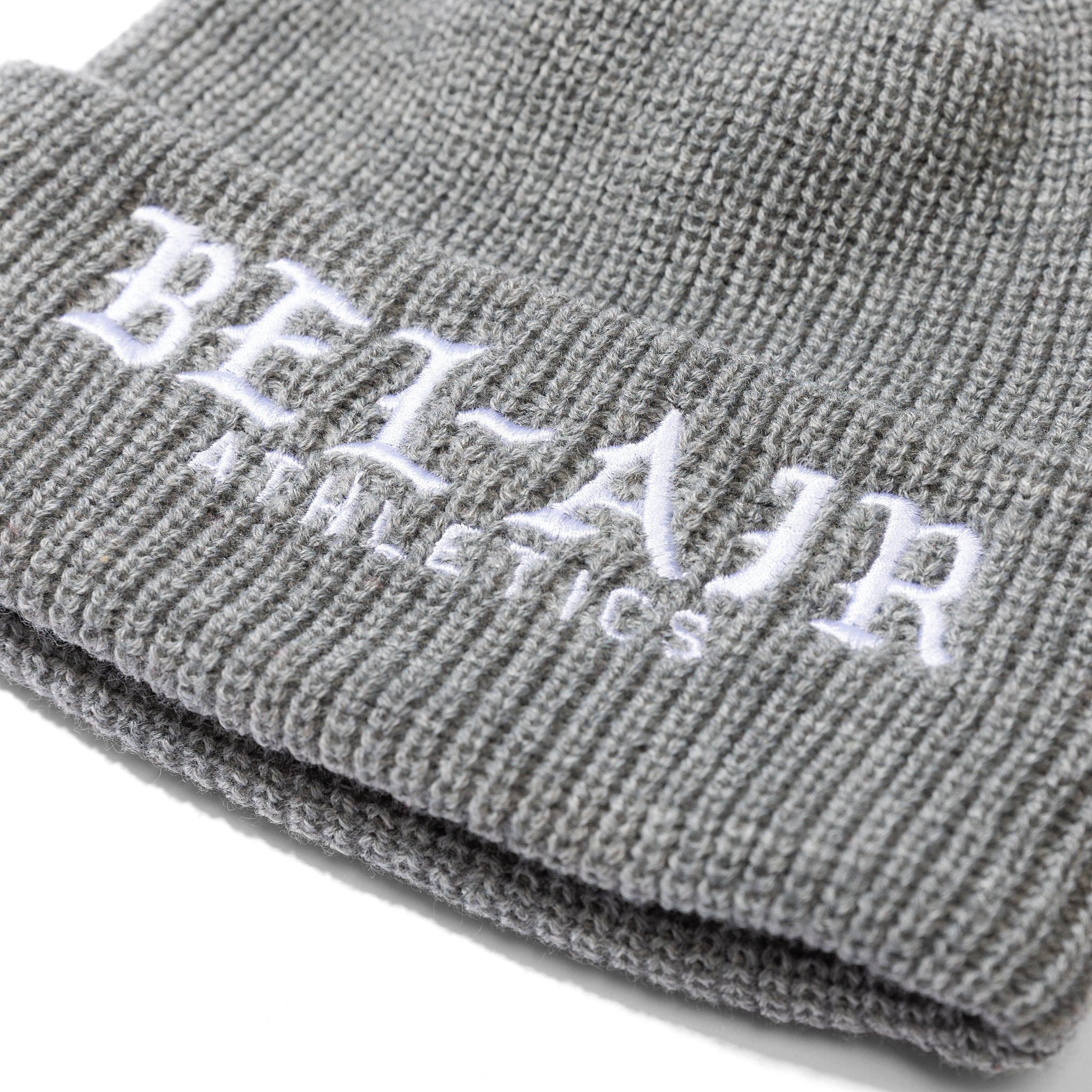 Old English Beanie Grey Image  #2