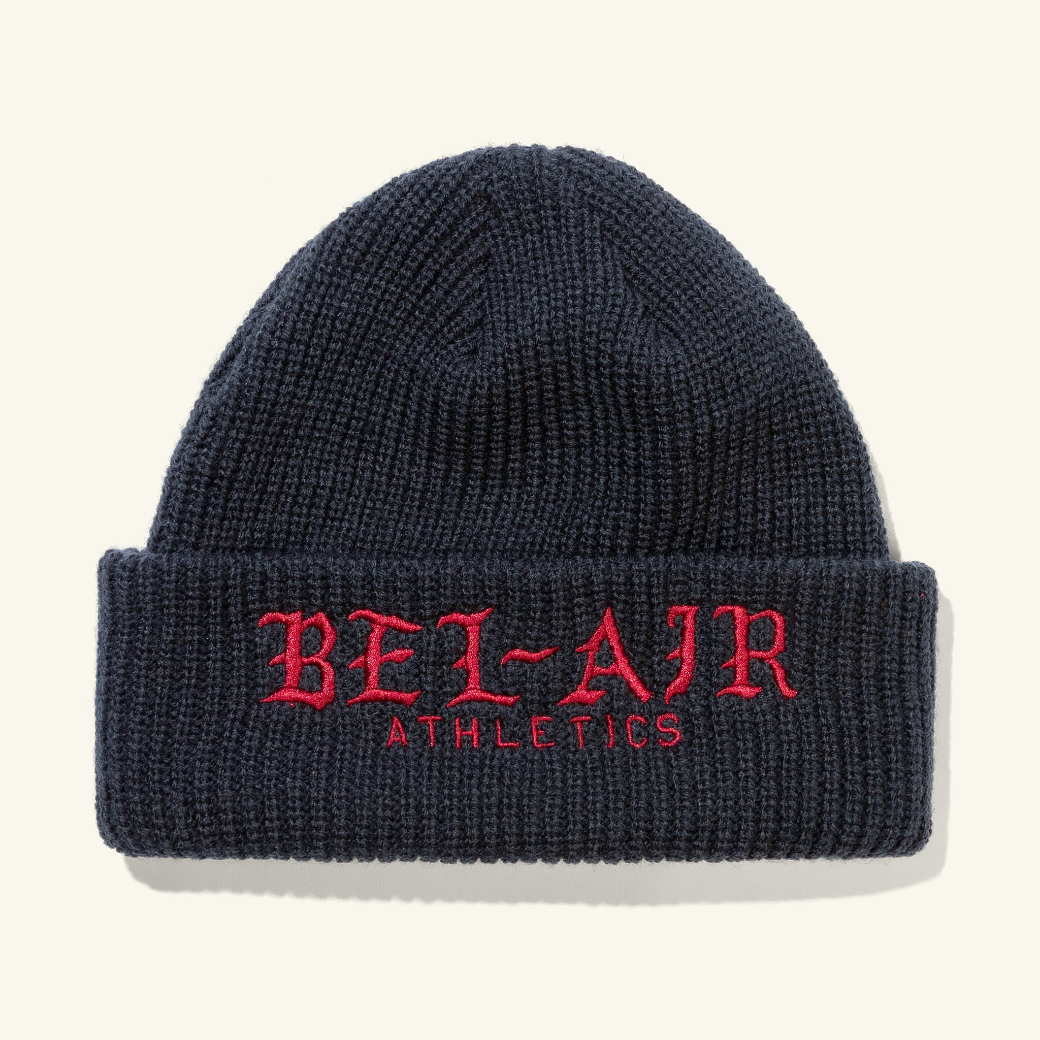 Old English Beanie Navy Image  #1