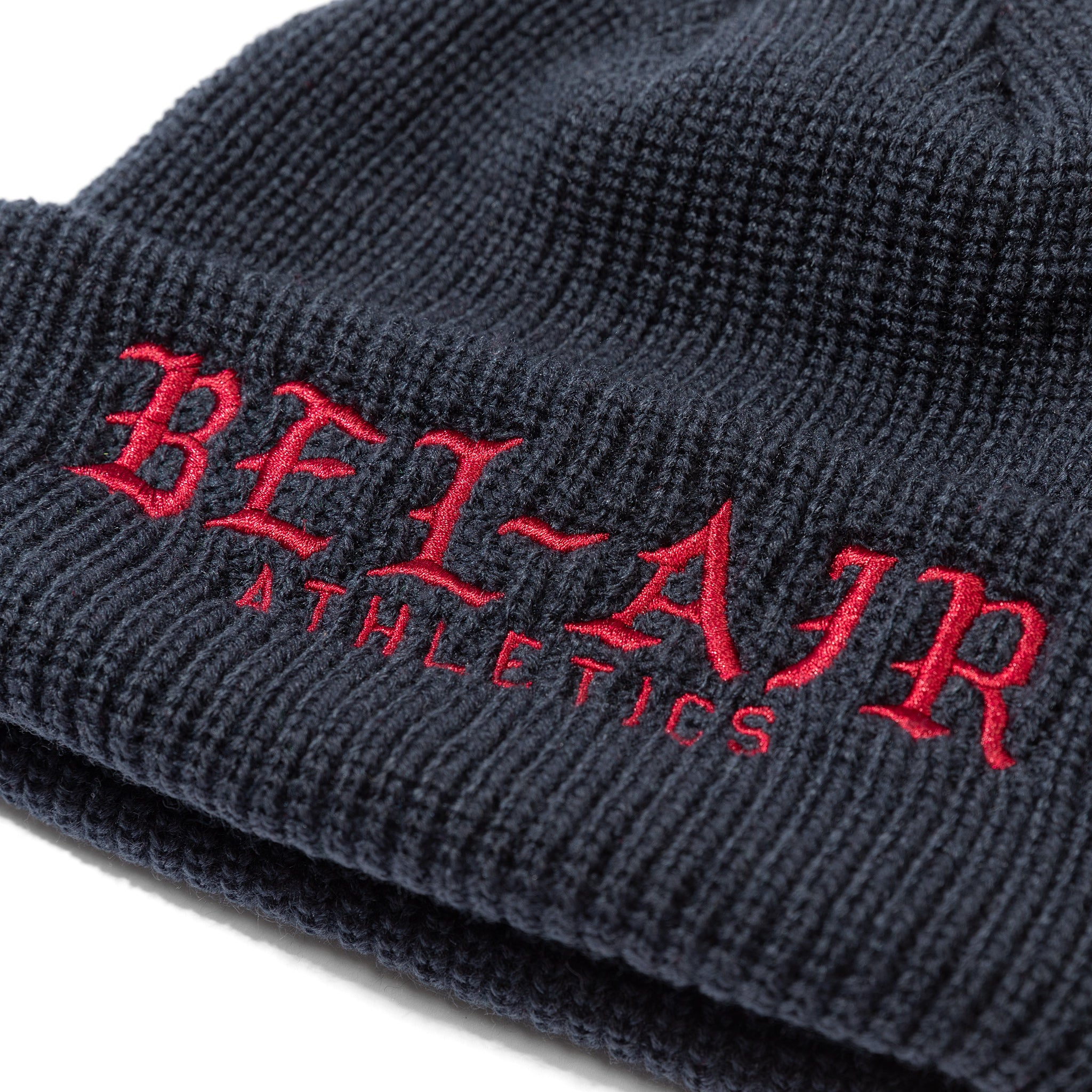 Old English Beanie Navy Image  #2