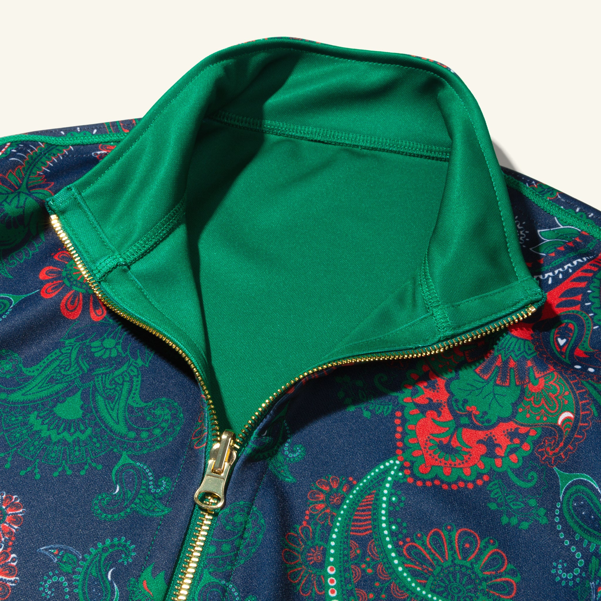 Reversible Track Jacket Lucky Green Image  #4