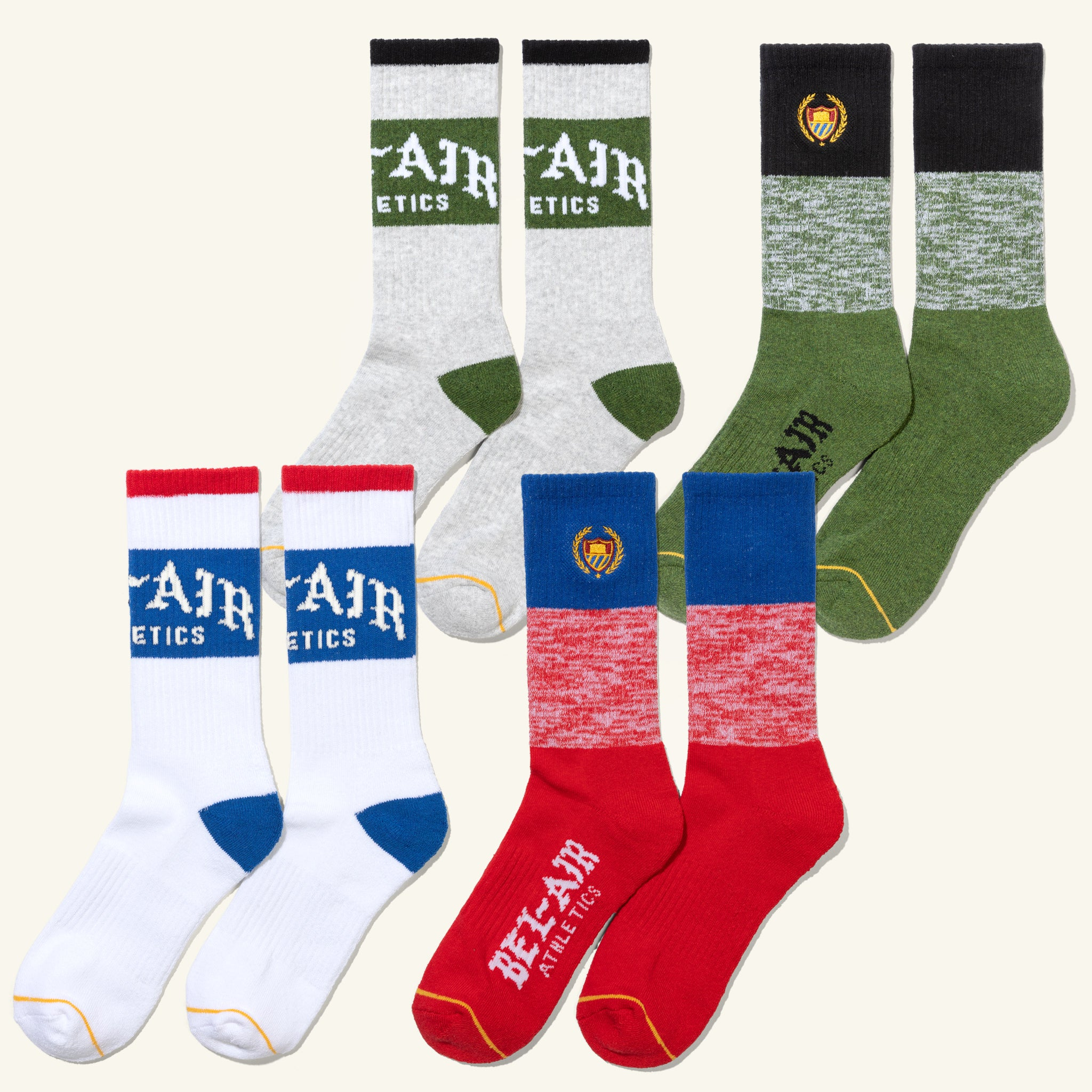 Socks Mixed 4 Pack Image  #1
