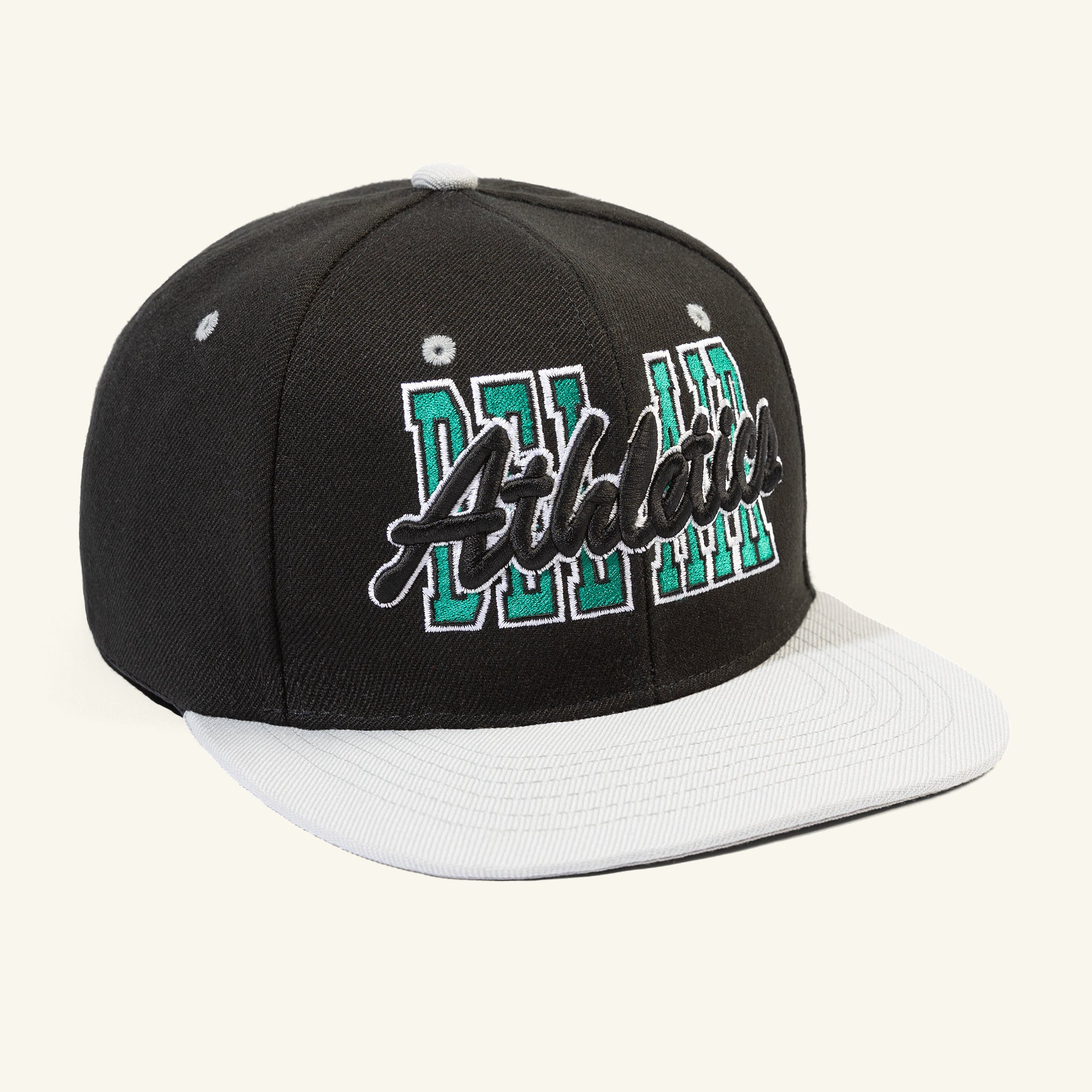 Tall Stack Snapback Black Image  #1