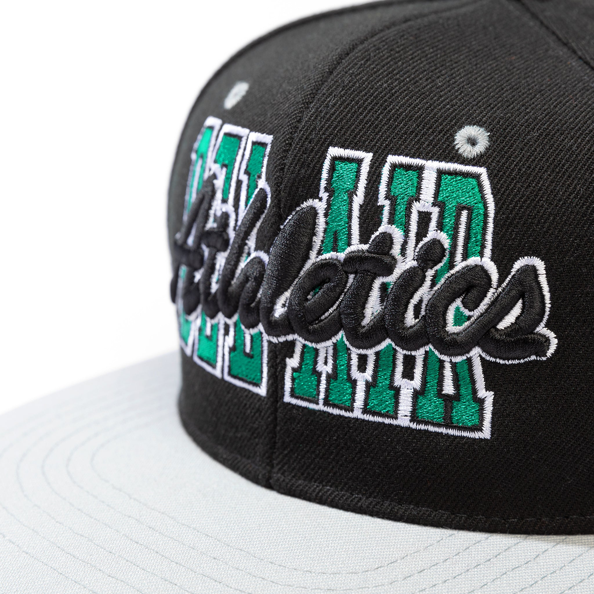 Tall Stack Snapback Black Image  #2