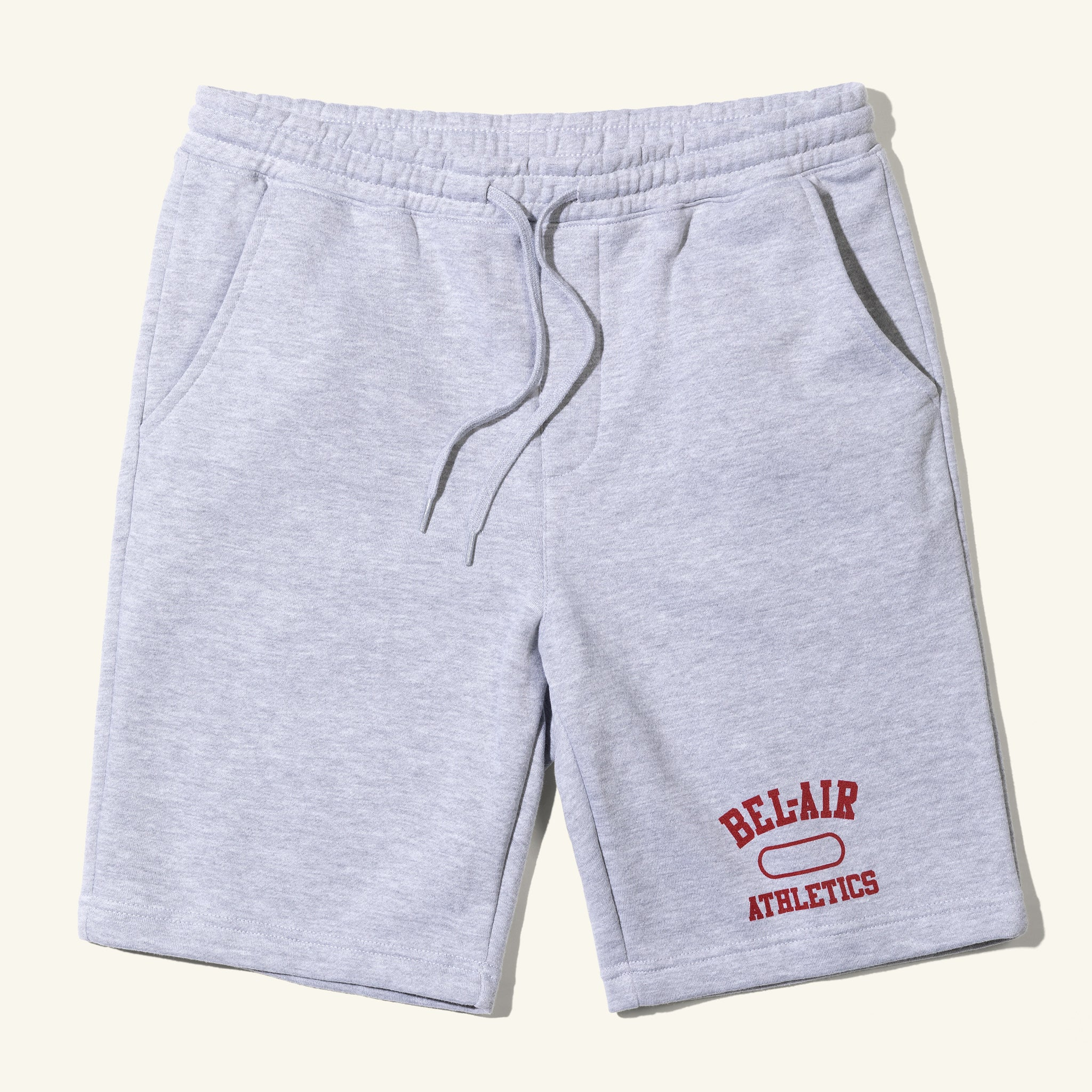 Gym Logo Shorts Heather Grey Image  #1
